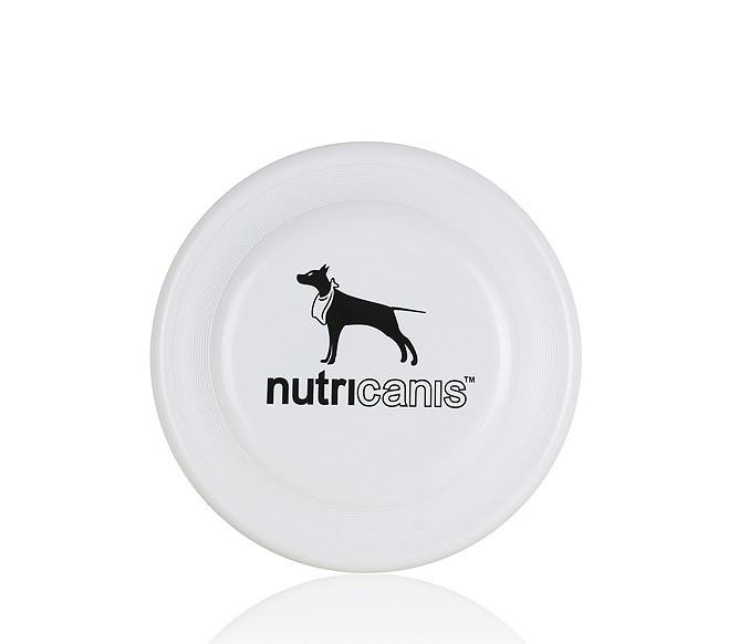 Hunde-Frisbee (bissfest) schwarz/weiß