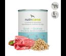 Nassfutter Hund Adult: 800g Ziege + Quinoa mit Mariendistel