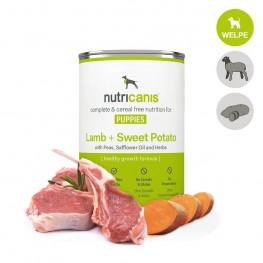 Welpenfutter: 400g Lamm + Süßkartoffel