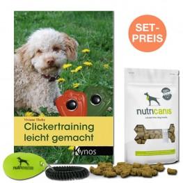 Trainings-Set für Clickertraining für Hund