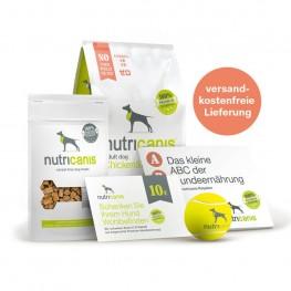Hundefutter Kennenlernpaket Adult Dog Huhn & Erbsen