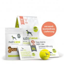 Vertrieb: Kennenlernpaket Adult Dog Huhn & Erbsen