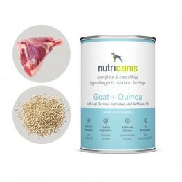 Nassfutter Hund Adult: 400g Ziege + Quinoa mit Mariendistel