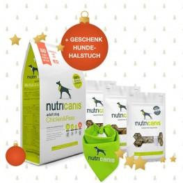 Schlemmerpaket Trockenfutter + Nassfutter + Snacks