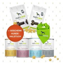 Das besondere Schlemmerpaket + gratis Geschenk Hundehalstuch