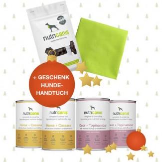 Schlemmerpaket 2 x Pferd + 2 x Hirsch + Snacks