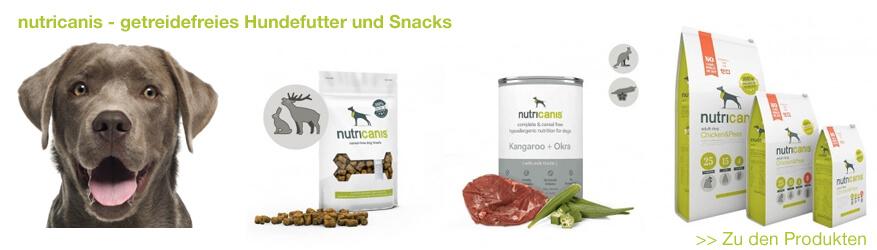 nutricanis Hundefutter und Snacks