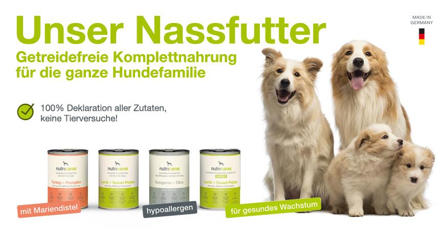 Hundefutter Nassfutter
